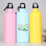 Aluminum Bottle with Carabiner